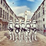 The force is strong in #Dubrovnik!  May the 4th be with you! #StarWarsDay Photo by Dubrovnik Times https://t.co/MQfu1M3S3B