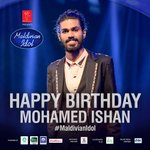 Wishing our very talented Ishan a very Happy Birthday.  Keep smiling like always you do :) #MaldivianIdol https://t.co/JXOLkheRJ0