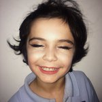 Did my little brothers makeup and he looks cute as hell https://t.co/BzYzoF5ScY