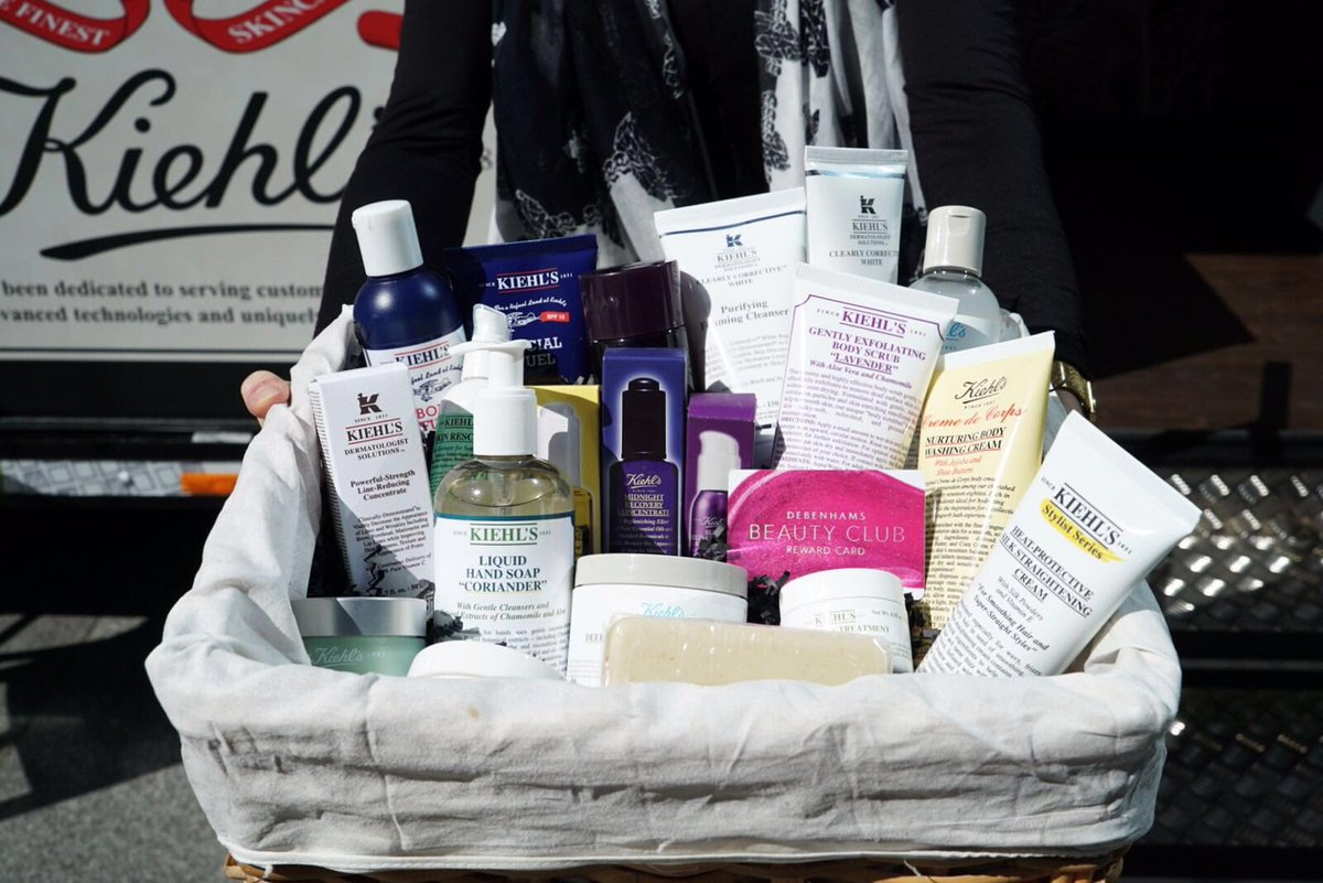 Simply retweet to #win this hamper from our #BeautyClubHaul of the @kiehlsuk #kiehlsonwheels truck! Good luck! https://t.co/dXPqii9A9V