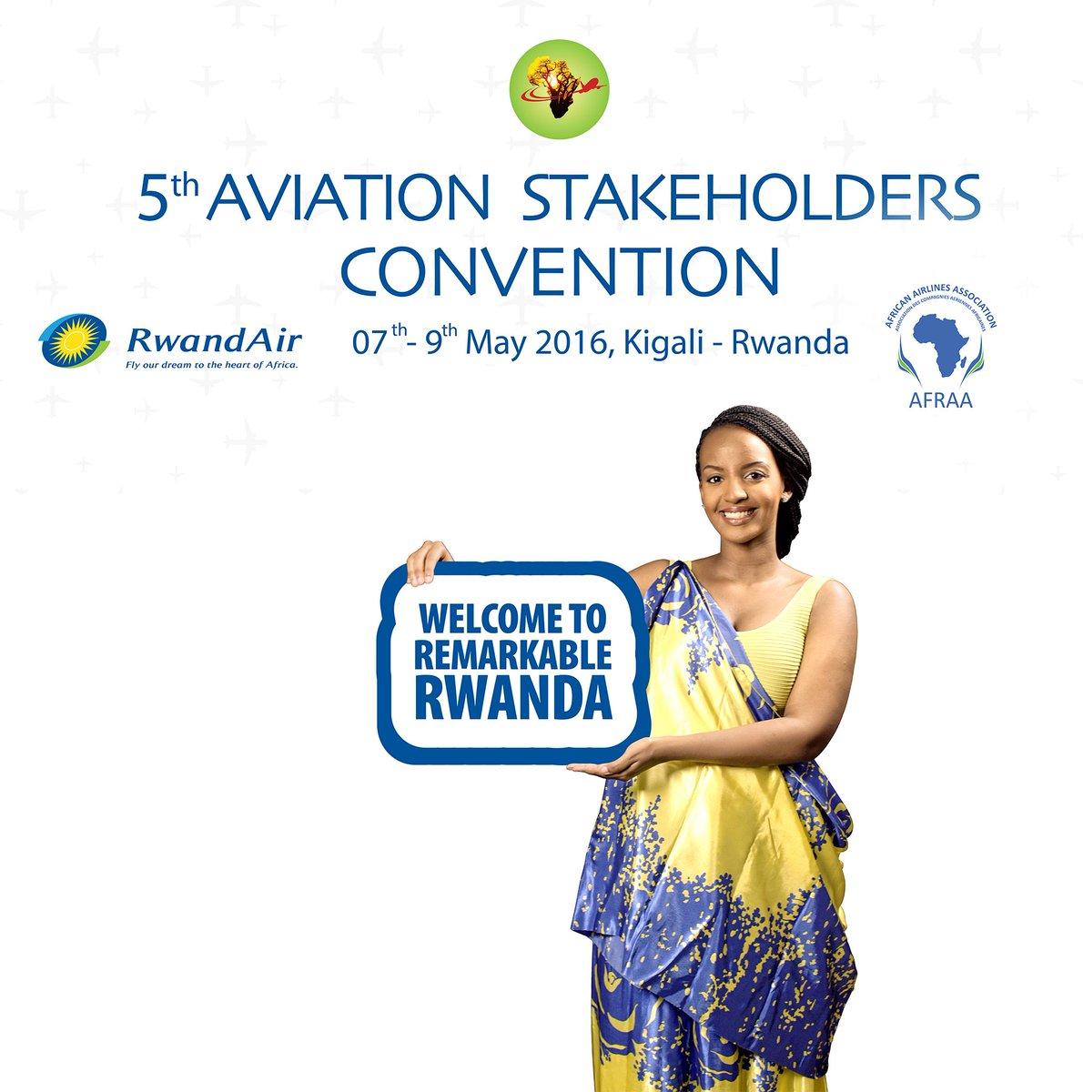 #Rwanda gearing up to welcome @AfricanAirlines #ASC2016 in #Kigali:7-9 May @RwandaCAA @RwandaInfra @Rwandamigration https://t.co/ej0dWbuWac