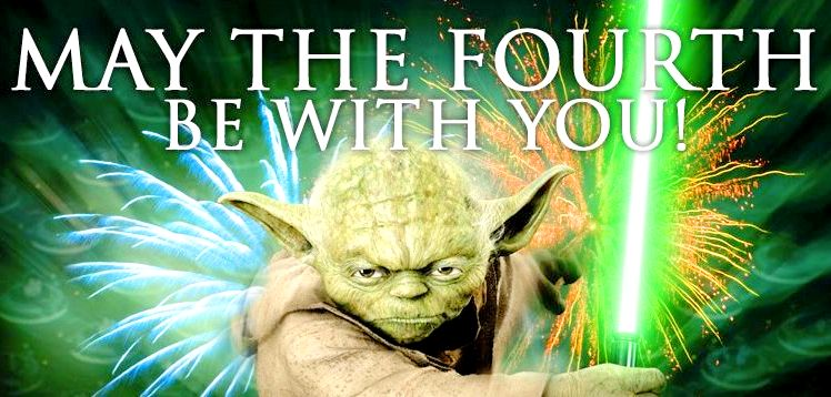 Morning geeks and freaks! #MayThe4thBeWithYou https://t.co/Nreaze2ZSx
