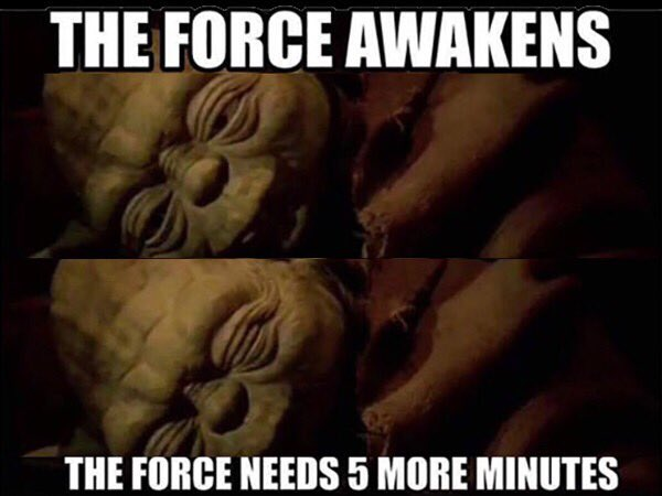 Morning everyone...need coffee #MayThe4thBeWithYou https://t.co/6XLWeBwG3K