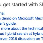 Official Office Blog: SharePoint 2016 RTM and the Future of SharePoint event - https://t.co/z7wMX6Qgg4 https://t.co/iWI6sCn3ZT