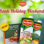 Follow & RT to win a Del Monte juice voucher & recipe book in celebration of the long weekend! https://t.co/Thcyvno6yc