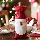 NEW Christmas Decor Santa Wine Bottle Bag Cover Dinner Party Table Xmas Decor - Bid Now! O… https://t.co/r2yt7odskH https://t.co/QxapKsEp6W