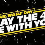 May the Fourth Be With You! Happy #StarWarsDay! #MayThe4thBeWithYou https://t.co/5lb0JdMWTx