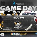 The #Pens seek a 3-1 series lead tonight. Its a HOCKEY NIGHT in PITTSBURGH! https://t.co/045miyJjww