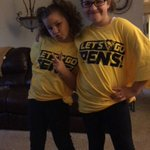 @penguins Headed to school ready for the game in their rally shirts!! Lets go Pens!! https://t.co/5pUUX12yLz