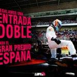 RT y FOLLOW para participar: regalamos una entrada doble para el GP de España en @Circuitcat_es. Hasta 08/05 #F1 https://t.co/ibw6iwbnWy