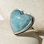 Larimar Caribbean Love Heart Sterling Silver Ring genuine Turquoise… https://t.co/dz7BloTd8P #etsymntt #etsyhandmade https://t.co/ZzKrgzRc1K
