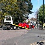 Two vehicle crash blocks #Broadway in #Peterborough city centre - Read more: https://t.co/lgZPa2SQQK #Cambridgeshire https://t.co/jzo1wxm65Q