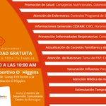 #Rancagua: ¡Cuéntale a tus vecinos! Este sábado operativo médico en Población O´Higgins Cc: @alcaldesoto RT https://t.co/0uPg5OgB2Q