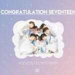 [????] 140504 Congratulations to SEVENTEENs first win!!! ❤ @pledis_17 #SEVENTEEN1stWin #PrettyU1stWin https://t.co/NL5Fy4wHkd