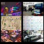 Atmosphären... CCC & re:publica #rpTEN #cccamp #32c3 #c3 #33c3 https://t.co/IpOAPCzREA