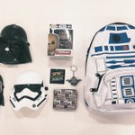 #MayThe4thBeWithYou! Giving away all this #StarWars stuff to someone lucky. RT+Follow for the chance to win #R24U!✌???? https://t.co/MinXspE1AG