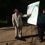 Mayor Reichert @MaconBibb says a pedestrian bridge will also be installed @13wmaznews https://t.co/T3ukkDkOBd