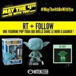 RT & FOLLOW Pour gagner une figurine pop Yoda Spirit ! Tirage demain à 10h ! #MayThe4thBeWithYou #Hitekbox https://t.co/hpeJUsLAXH