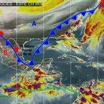 ☔#ASacarElParaguas Se esperan lluvias muy fuertes de 50 a 75 mm o superior en el área de #Chontalpa #Centro #Sierra https://t.co/neFl3SGMp6