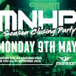 £1 Early Bird tickets are selling quickly for the MNHP Season Closing Party this Monday at Mission! https://t.co/j0Fy7Xsc5x