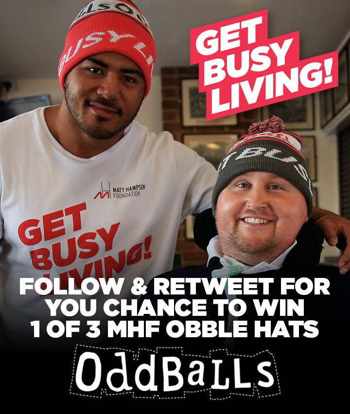 COMPETITION TIME! Retweet & Follow for your chance to win 1 of 3 new #GetBusyLiving Obbles! https://t.co/SlWEhc6D5s https://t.co/JtxNFZr30Y