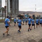 A esta hora, el equipo realiza trabajo físico en la costanera iquiqueña #VamosCelestes https://t.co/Do1ol1DVcb