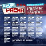 Nice one! @bobsinclar The #purepacha line up for #parisbynight in #ibiza2016 #pachalove https://t.co/7sD13GrBFt https://t.co/kWObMrgTXJ