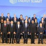 """Mandatarios y representantes de países que participan en la #CumbreEnergía """"Centroamérica- EE UU - El Caribe"""" https://t.co/GDiZzVbJ9t"""