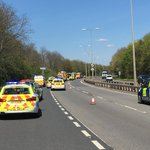 VIDEO: #A47 closed in #Peterborough as car hits road sign and leaves road - https://t.co/qEyaDnyp8Z #Cambridgeshire https://t.co/emRTDWQ9Hr
