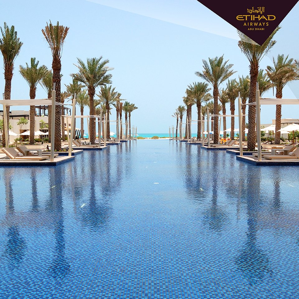 What's better than a day by the pool? Join us InAbuDhabi for some of the best: