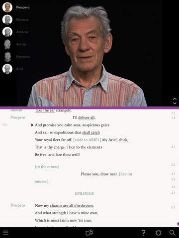 .@IanMcKellen has released an app devoted to making Shakespeare more accessible! https://t.co/obkX5uaYex https://t.co/aL01NbbTVA