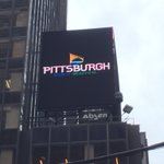 I see you, #Pittsburgh ad in Times Square ???? @vstpgh https://t.co/9UGy6QM5GT