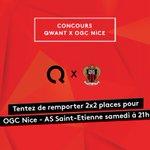 RT + Follow pour remporter 2x2 places pour @ogcnice x @asse match décisif pour la qualification en @championsleague🏆 https://t.co/Vm68O5U2ib
