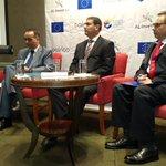 .@camarasal y diplomáticos de Unión Europea presentan 2a edición de AL Invest para beneficiar a pequeña empresas. https://t.co/GZ5VyaHGxK
