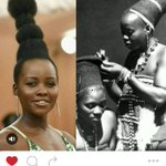 Lupita Nyongo shares on Instagram who her #MetGala hair inspiration is from. Not Audrey Hepburn. https://t.co/ixlLoxQtF2