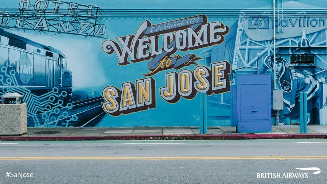 Today we launch our Heathrow - SanJose, USA flight! Discover Silicon Valley