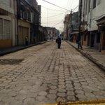 Otra zona recuperada, parte de calle delgado @Meganoticias19 @ddovia @nayibbukele informara avances @Meganoticias19 https://t.co/dUNDyC0xWH