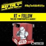 RT+FOLLOW Et gagne une superbe Tirelire Stormtrooper ! Tirage demain à 10h15 ! #MayThe4thBeWithYou #Hitekbox https://t.co/4LOgs2urzf
