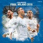 ⚽ Final de @LigadeCampeones  📅 28 de mayo de 2016 🌍 Milán, Italia  #APorLaUndecima #RMUCL #HalaMadrid https://t.co/RdpVWnXLov