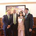 La posesión del ministro de Justicia @SJorgeLondono es un motivo que reúne a tres gobernantes de la @alianzaverdec https://t.co/uCRtsW6NnZ
