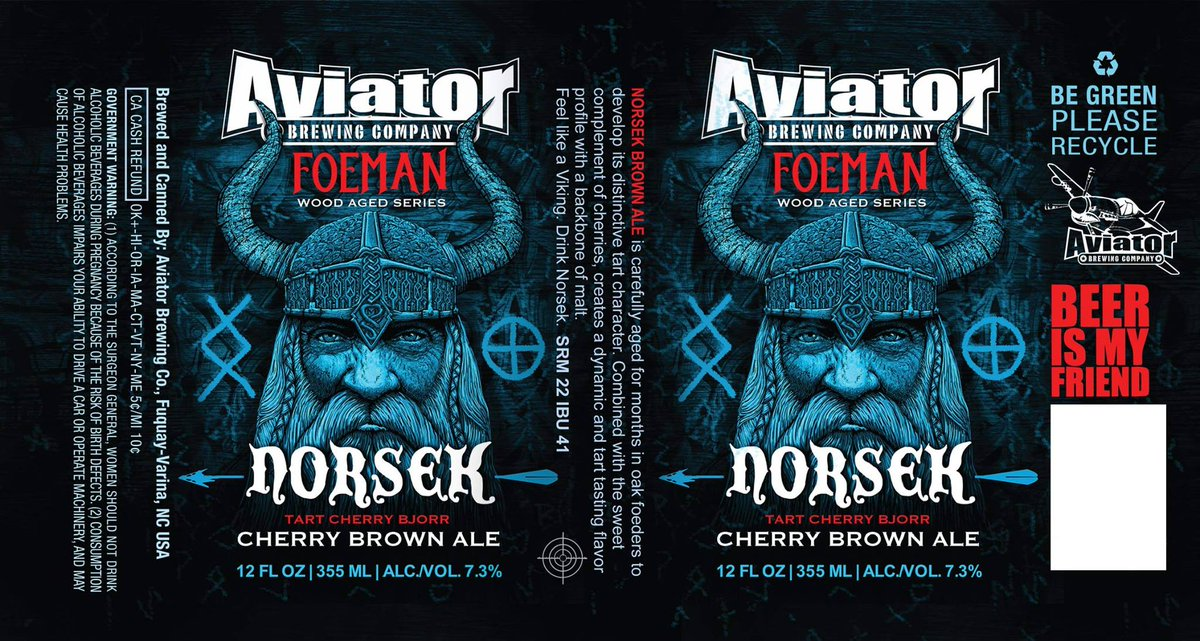 Aviator TapHouse Cask 2nite: Norsek SourCherry Brown Ale & Spring Bock! Come & celebrate the lack of storms tonight! https://t.co/Xzrvp9XmIM