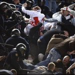 @theawayfans #bwfc in Madrid, same thing happening. The police are to blame. https://t.co/tzUH9VTxZy
