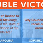 Meanwhile, @TheJusticeDept has informed @PatMcCroryNC that #HB2 violates the Civil Rights Act! https://t.co/pARyBznFvq
