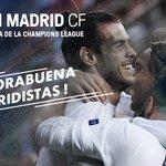 ¡Se acabó! ¡Los de Zidane se meten en la final de Milán! ¡Felicidades, @realmadrid! ???? #UCL https://t.co/uTJbM89Oaf