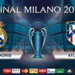 Real Madrid will play Atlético in the #UCLfinal in Milan on Saturday 28 May.  We cant wait... https://t.co/kNMRF0y2WO