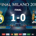 El @realmadrid estará en la gran final de la @LigadeCampeones de Milán. ¡Enhorabuena! #UCL ???????????? https://t.co/BlxqBfR01z
