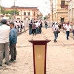 En minutos el alcalde @nayibbukele anunciará avances sobre el reodenamiento del #CHSS desde la Calle Delgado https://t.co/rFGdwHzaQF