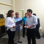 Ministro Andrés Arauz, entrega el Reconocimiento al ITS Luis Arboleda Martínez Manta como Operadores de Capacitación https://t.co/M0MzjqDOux