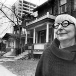 Today would be Jane Jacobs 100th. Thank you, Jane, for changing cities for the better. https://t.co/1Xhmez6vgl https://t.co/kg6QMvCR8k