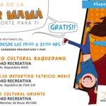 Celebra con nosotros el #DiadelaMadre este 10, 11 y 12 de mayo en #Rancagua ¡Te esperamos, mamá! Cc: @alcaldesoto https://t.co/y3TFgwJvcU